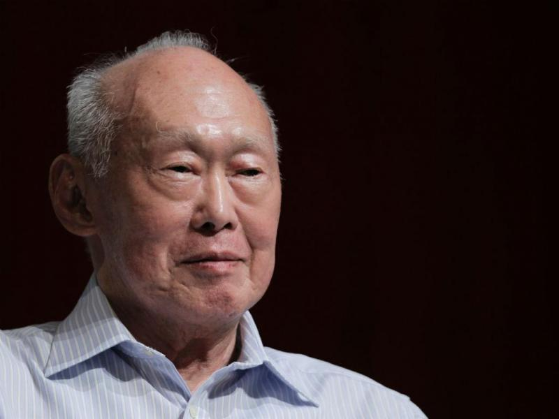 Lee Kuan Yew [Foto: Reuters]