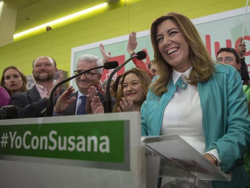 Susana Díaz [Foto: EPA]