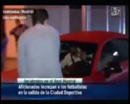 Adeptos do Real Madrid atacaram carro de Bale
