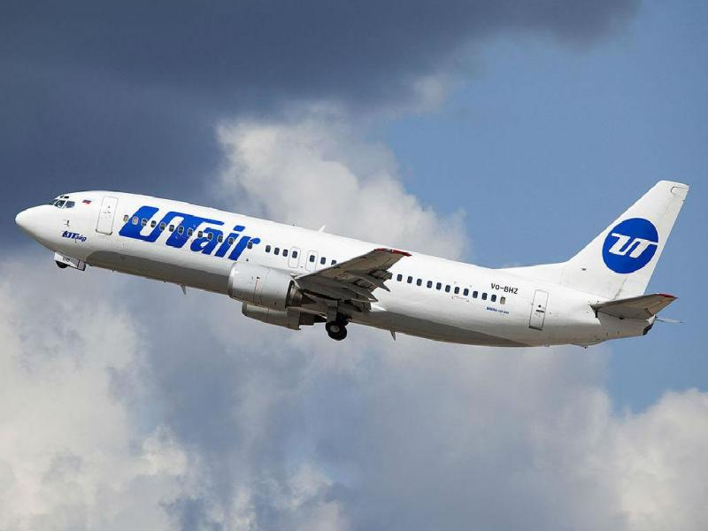 Companhia aérea russa UTair [Foto: Maarten Visser]