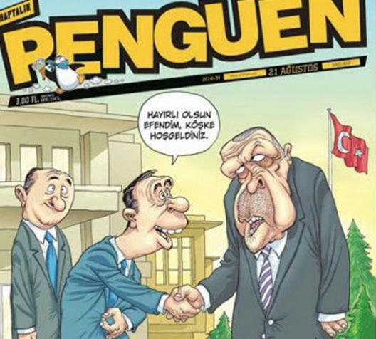 Cartoonistas condenados por caricatura polémica [Reprodução: Twitter]
