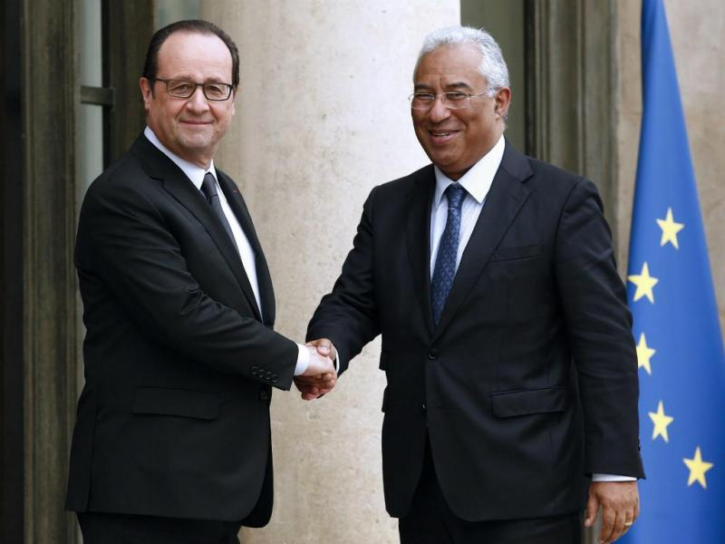 António Costa e François Hollande (Lusa/EPA)