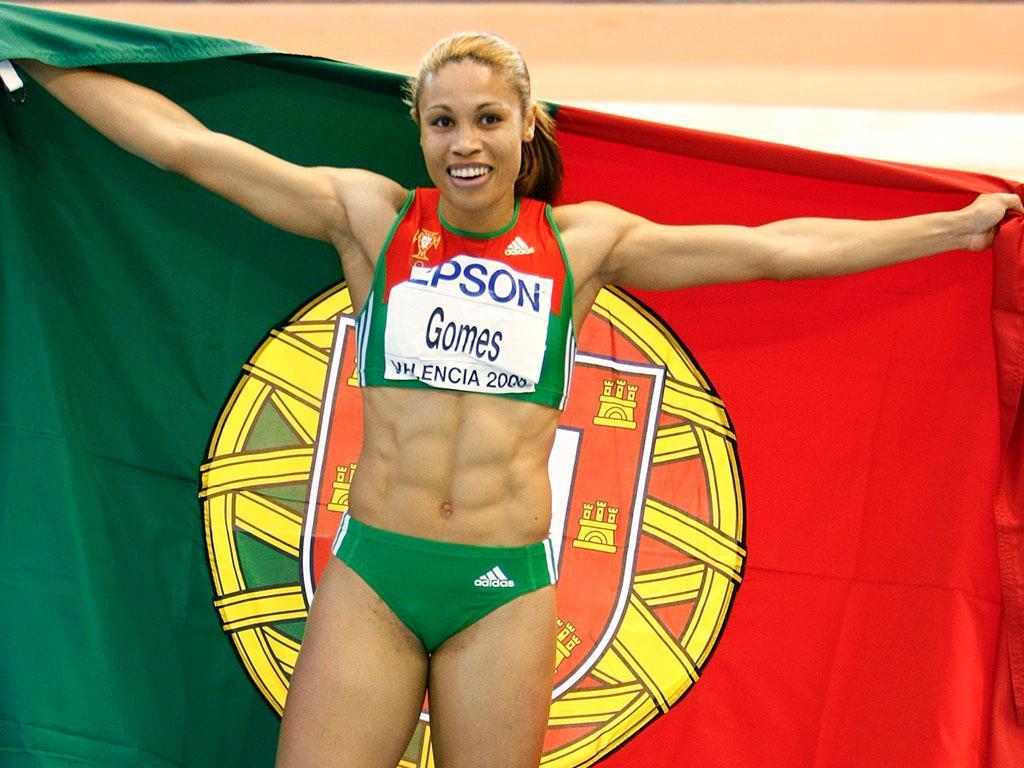 Naide Gomes anunciou final da carreira
