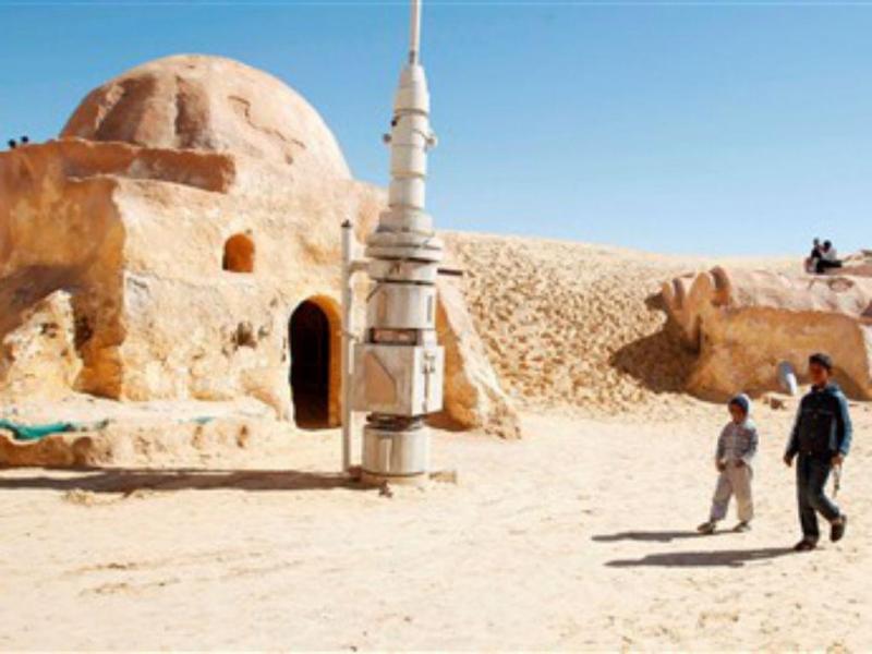 Cidade tunisina de Tataouine inspirou cenários de «Star Wars» (REUTERS/Zoubeir Souissi)