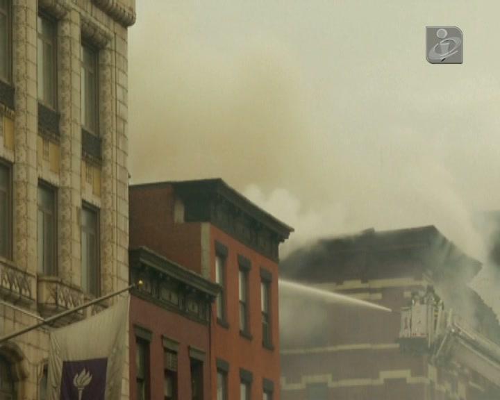 Explosão em prédio de Nova Iorque causa vários feridos