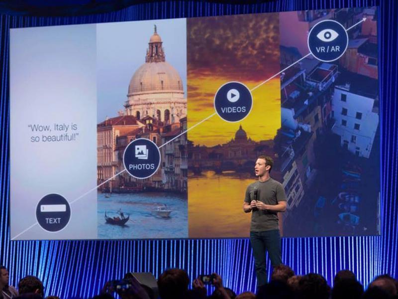 Zuckerberg: futuro do Facebook «será a realidade virtual»