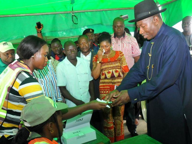 Goodluck Jonathan [Reuters]