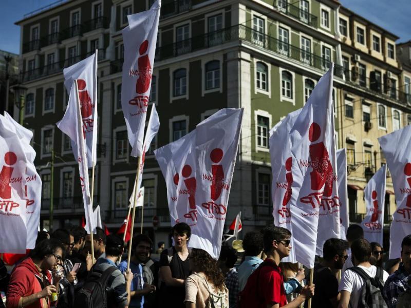 Manifestação Interjovem da CGTP em Lisboa [Lusa]