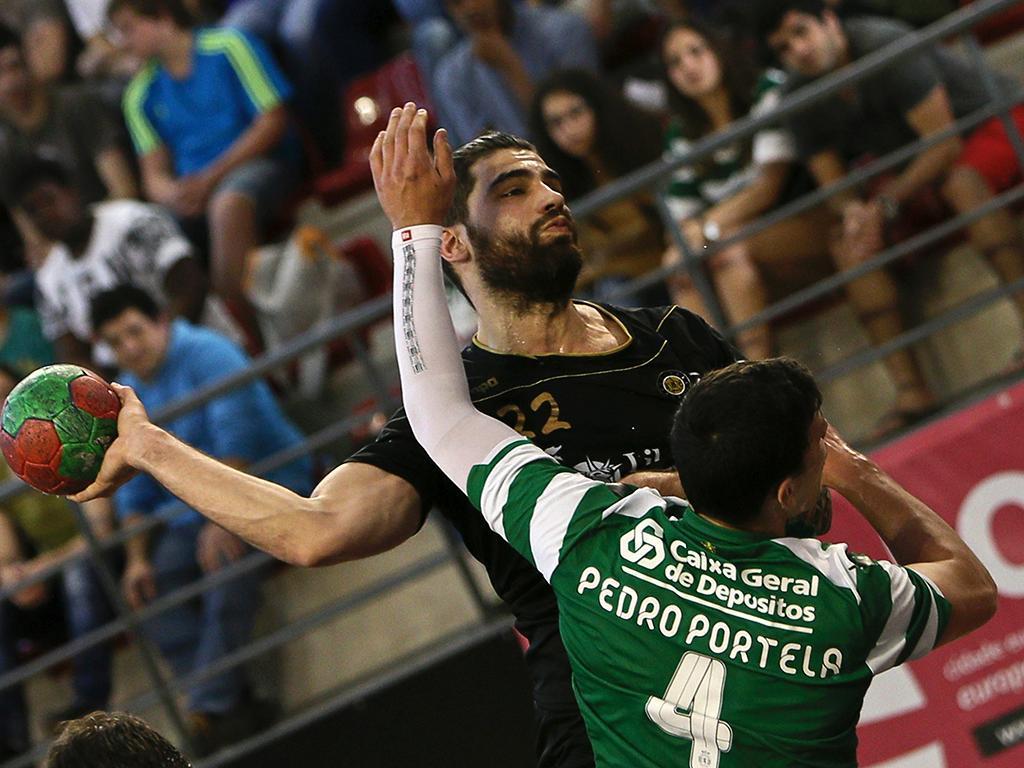 Taça de Portugal em Andebol: ABC vs Sporting (lusa)