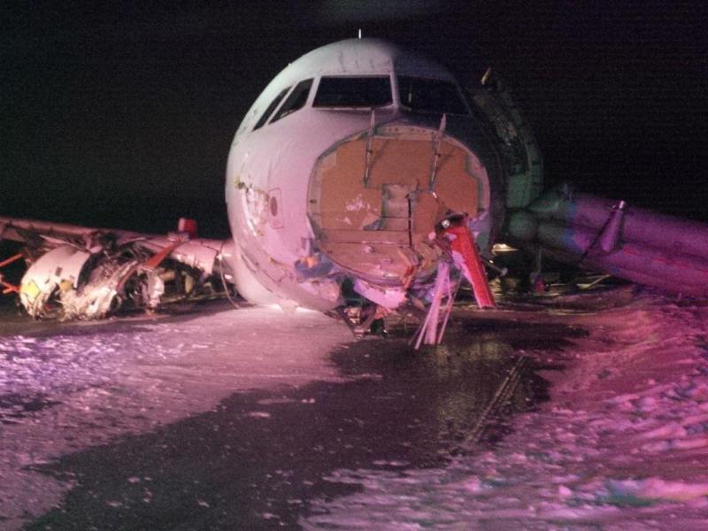 Acidente de avião no Canadá (EPA/TRANSPORTATION SAFETY BOARD OF CANADA)