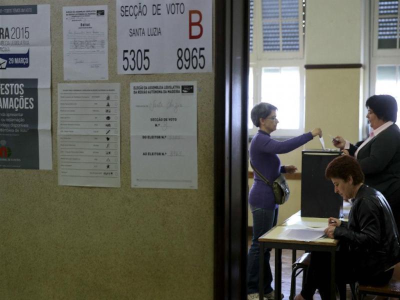 Eleições na Madeira [Foto: Lusa]