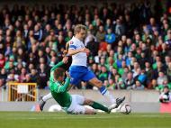 Irlanda do Norte vs Finlândia (Lusa)