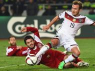 Geórgia vs Alemanha (Lusa)