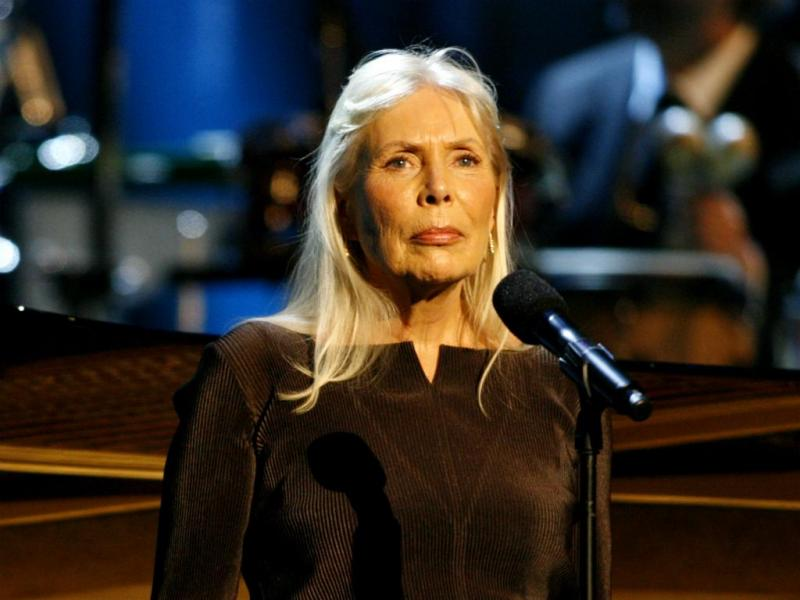 Joni Mitchell [Reuters]