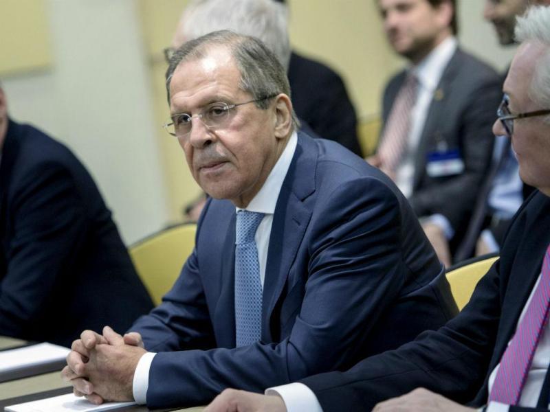 Ministro russo dos Negócios Estrangeiros, Sergei Lavrov (REUTERS)