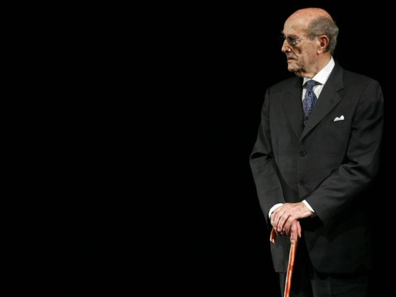 Manoel de Oliveira [Jean-Paul Pelissier/Reuters]