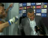 Marítimo: Ivo Vieira apanhou «banho» em direto na TVI