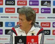 Jesus e a derrota do FC Porto: «Xistra fez uma excelente arbitragem»