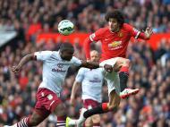Manchester United-Aston Villa (EPA/ Peter Powell)
