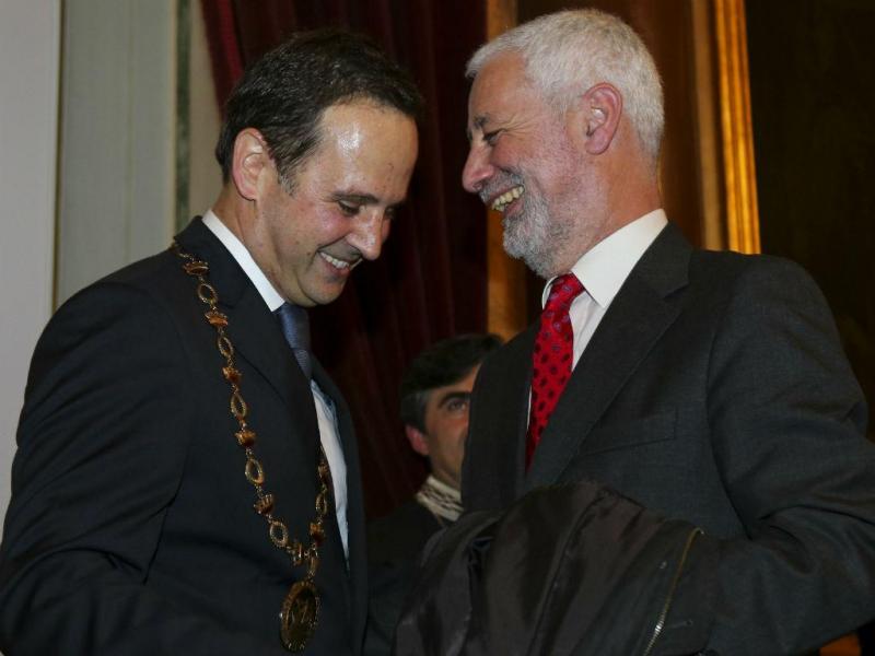 Fernando Medina e Sampaio da Nóvoa [Lusa]