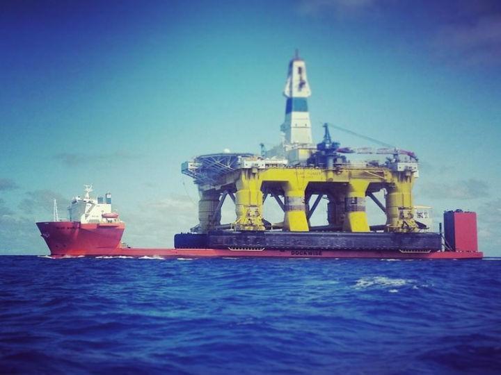 Greenpeace ocupou plataforma da Shell (Twitter)