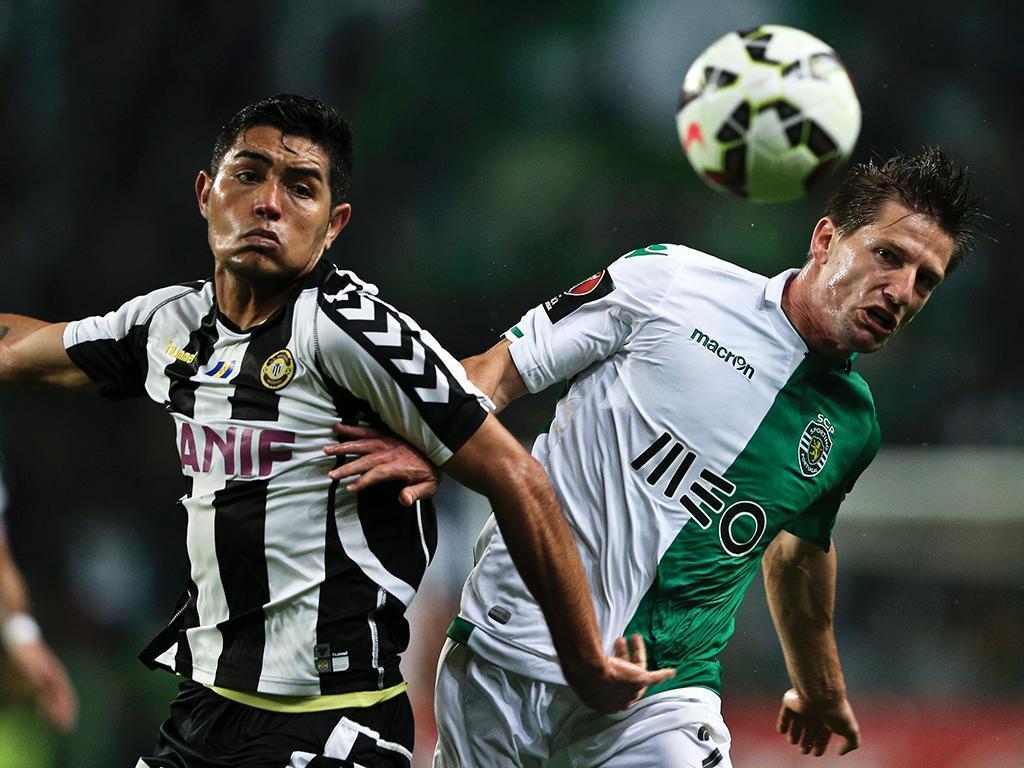 Sporting-Nacional (LUSA/ Miguel Lopes)
