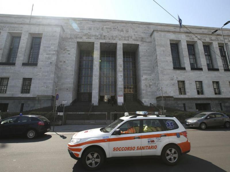 Tiroteio num tribunal de Milão [Reuters]