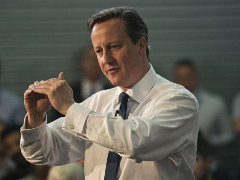 David Cameron - EPA/WILL OLIVER