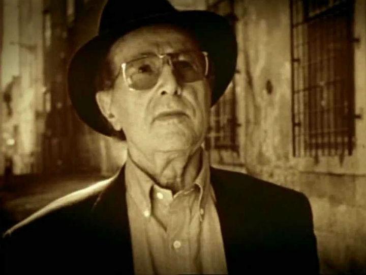Manoel de Oliveira no filme «Lisbon Story»