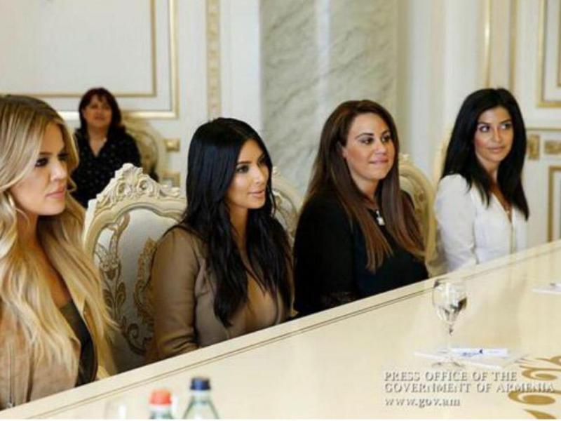 Kim Kardashian de viajem à Armênia (Instagram)