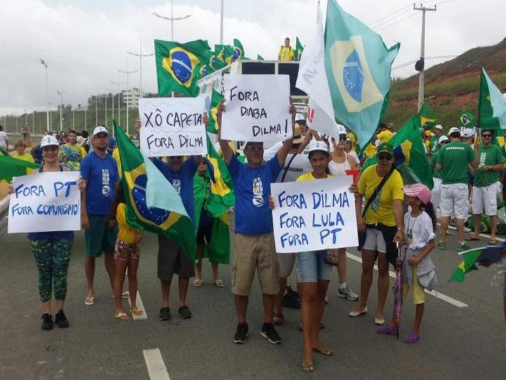 Protestos no Brasil [Twitter]