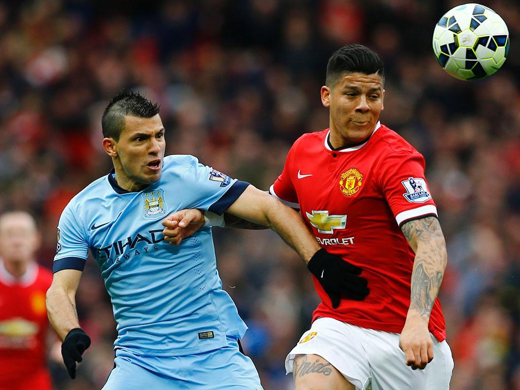 Manchester United-Manchester City (REUTERS/ Darren Staples)