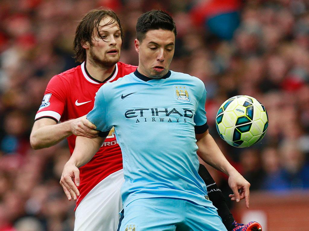 Manchester United-Manchester City (REUTERS/ Darren Staples)