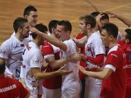 Voleibol Benfica-Vojvodina (LUSA/ Manuel de Almeida)