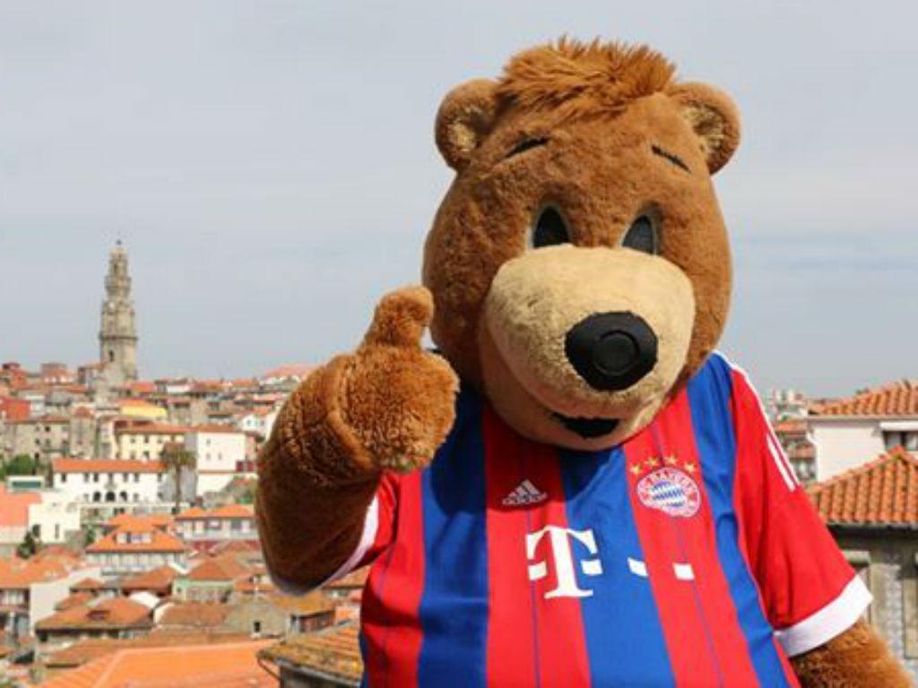 Bernie, a mascote do Bayern