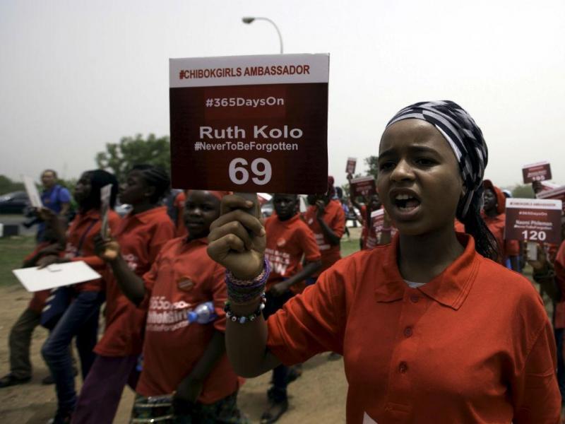 Nigéria: marcha em Abuja por jovens raptadas pelo Boko Haram (REUTERS)