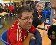 A invasão do adeptos do Bayern à Ribeira do Porto