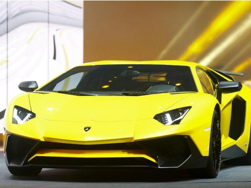 Lamborghini (REUTERS)
