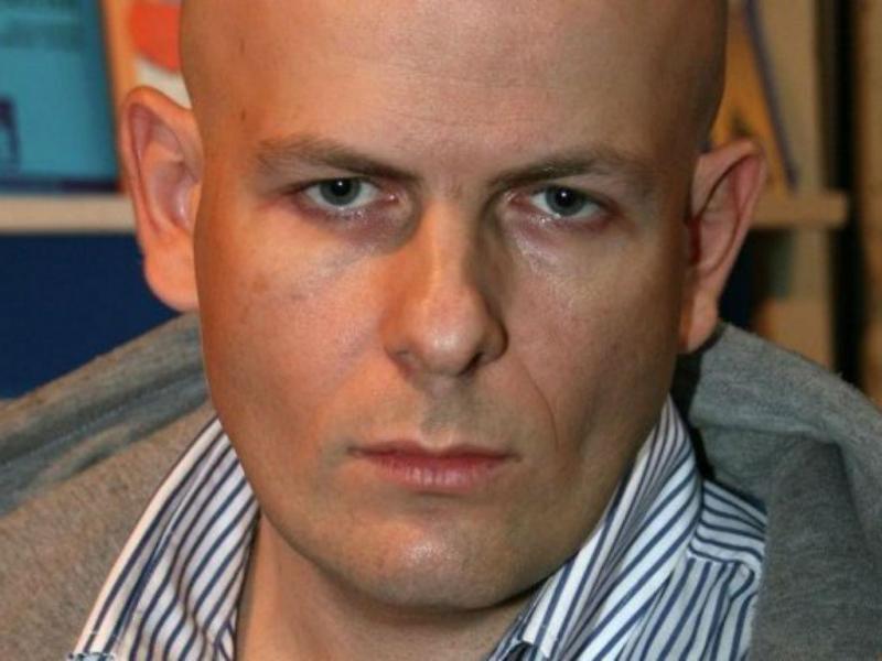 Jornalista ucraniano Oles Buzina (Reprodução Twitter)