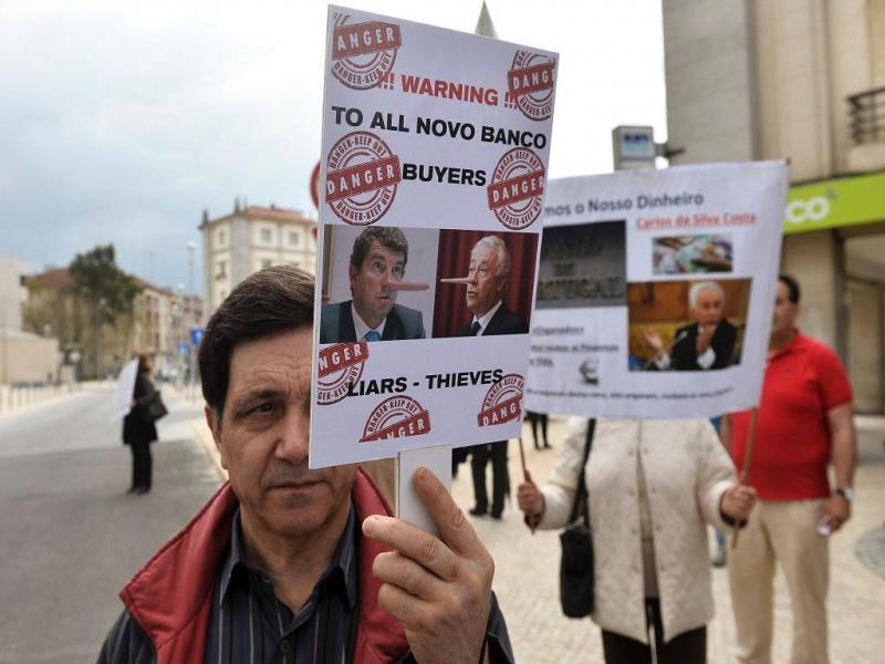 Manifestação dos Lesados do BES, Lisboa (LUSA)