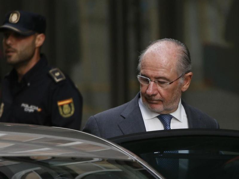 Rodrigo Rato ouvido por um juiz em 2014 (Reuters)