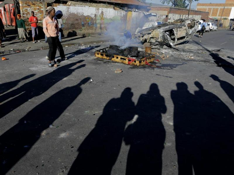 Violência na África do Sul