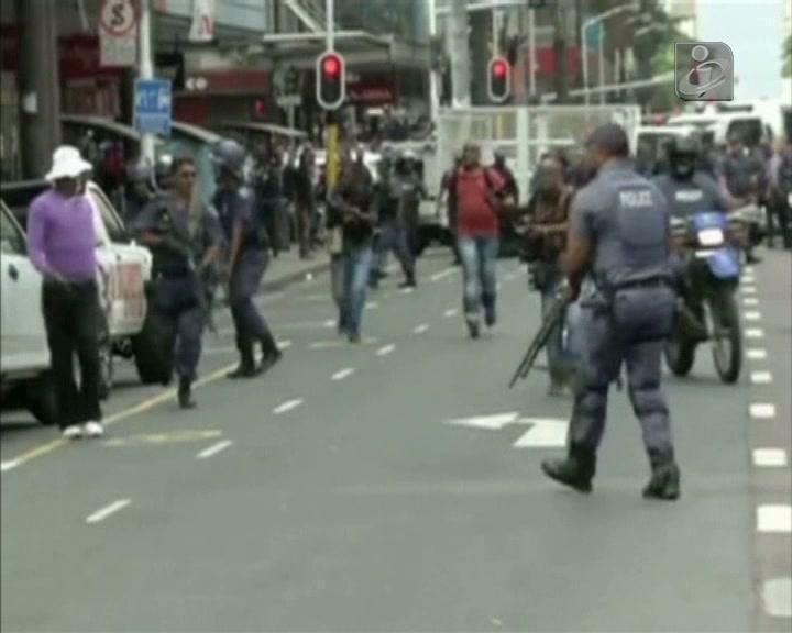 Tensão na África do Sul devido a xenofobia