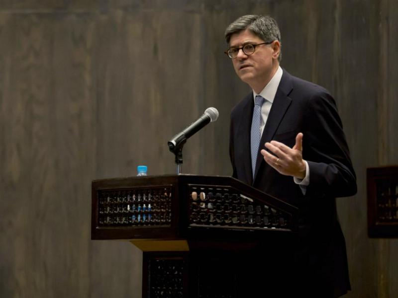 Jacob Lew [Reuters]
