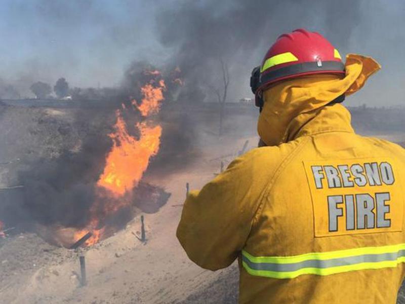 Explosão de gás em Fresno (REUTERS)