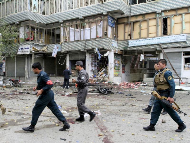 Ataque suicida no Afeganistão (REUTERS)
