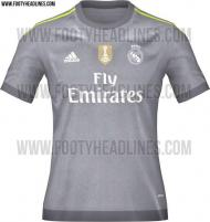 Os novos equipamentos do Real Madrid