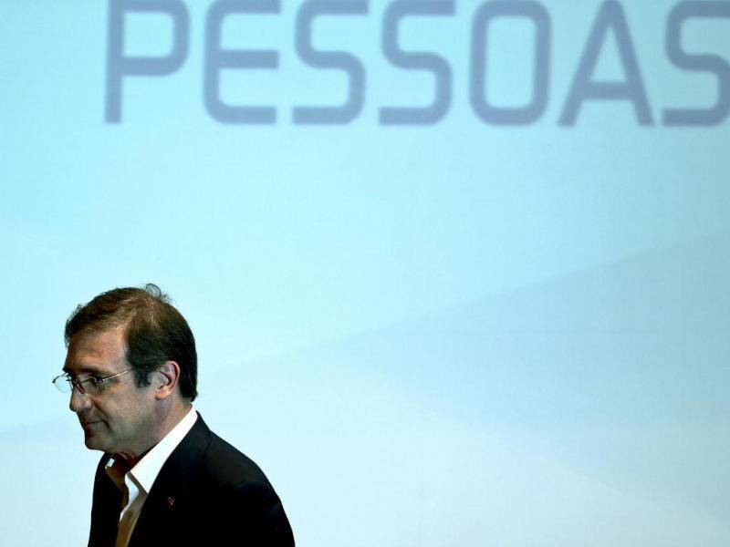 Pedro Passos Coelho, presidente do PSD (ESTELA SILVA/LUSA)