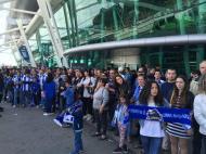 Adeptos do FC Porto no aeroporto