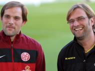 Thomas Tuchel e Jurgen Klopp (LUSA)